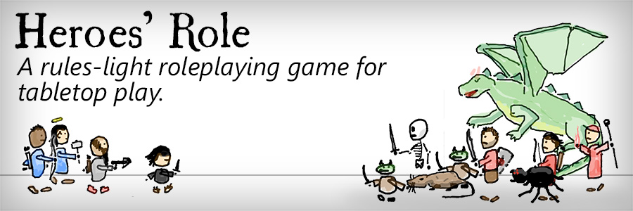 Tabletop Game: Role, a light-rules RPG